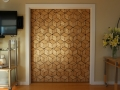 Sand shaded butternut veneer door