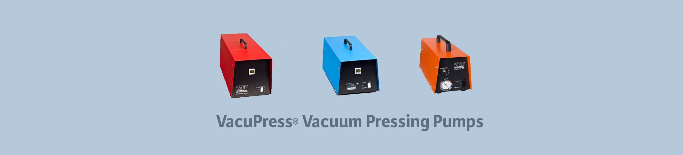 vacupress vacuum pressing pumps